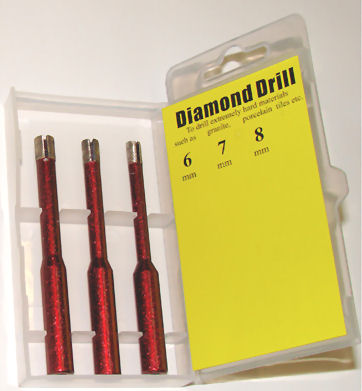 DDBSET 3 Pce. Diamond Tile Drill Set