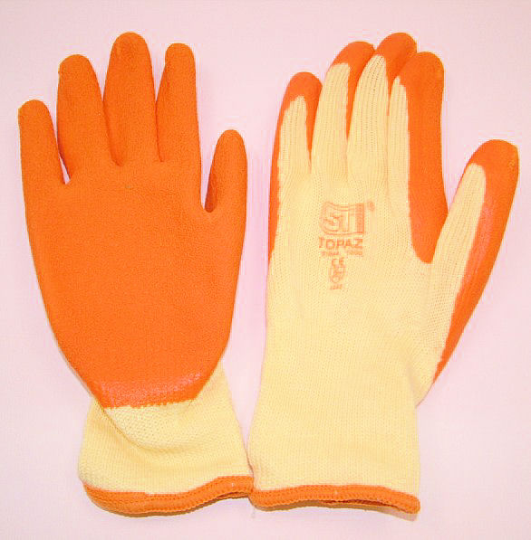 LG08 Latex Palm Gripper Gloves Size 8 (Medium)