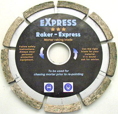 Mortar Raking Discs
