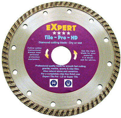 Professional tile blades diamondblades diamond blades t hd 115 tile pro hd expert tile cutting blade greentooth Choice Image