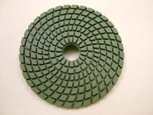 "Wet Diamond polishing pad 100mm(4"")100 grit coarse"