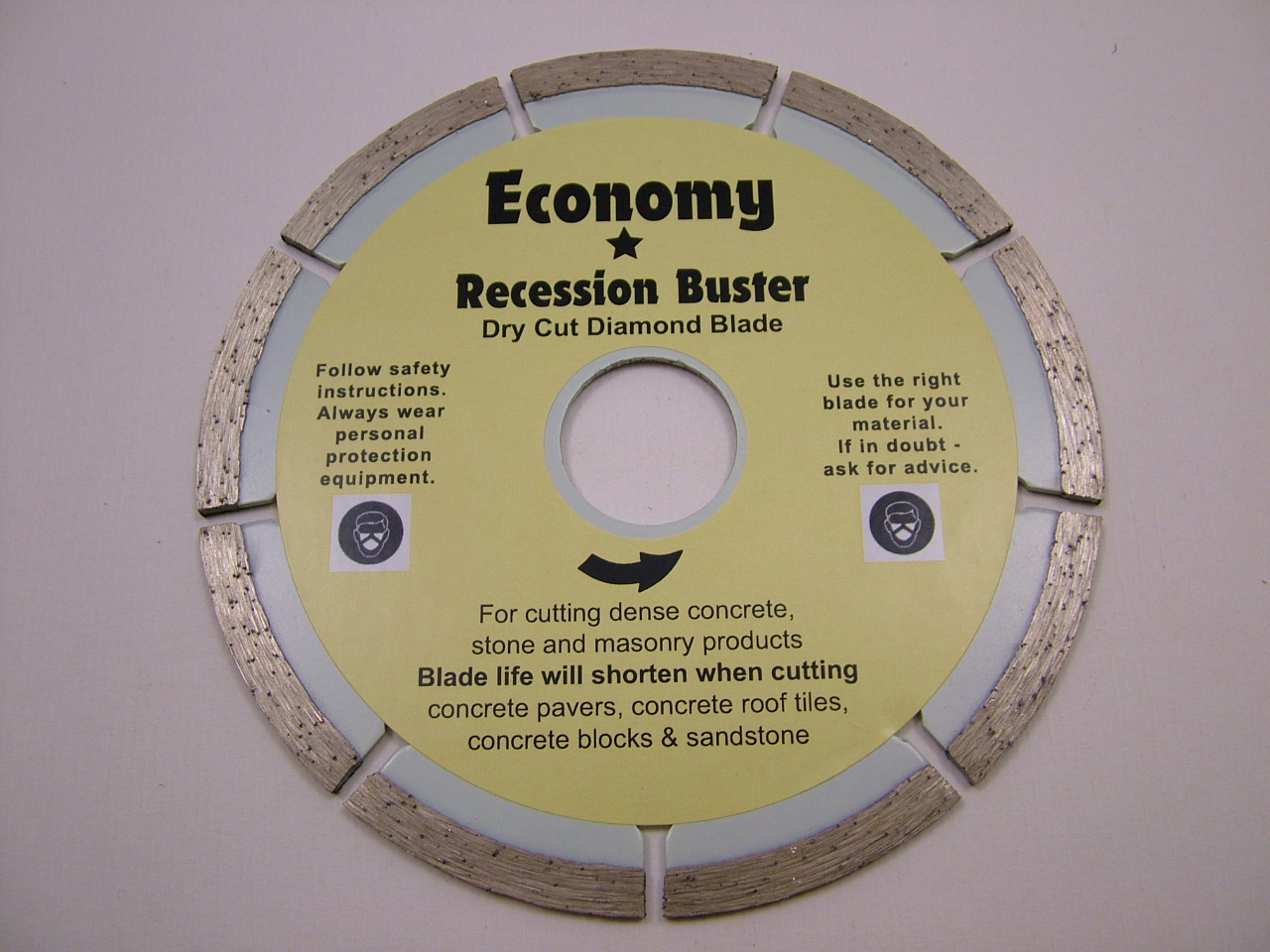Recession Buster G.Purpose Blade - 115mm
